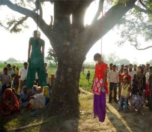 Teenage Sisters Gruesomely Raped And Hanged In Katra, India